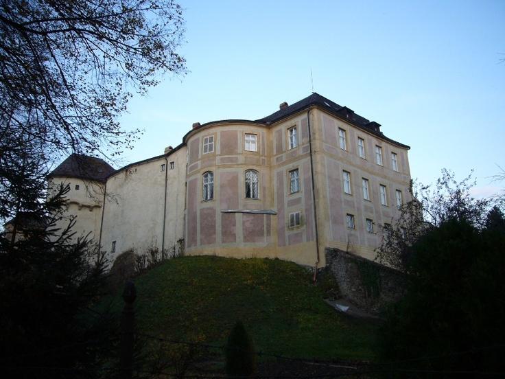 Jánský Vrch Castle in town of Javorník, Jeseník District