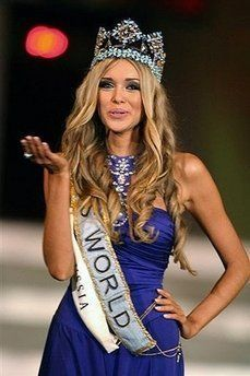 Miss Russia Wins Miss World 2008