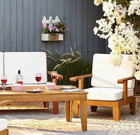 3 Easy Garden Ideas To Transform Your Outdoor Space. Best 10  Cream garden furniture ideas on Pinterest   Pallet garden