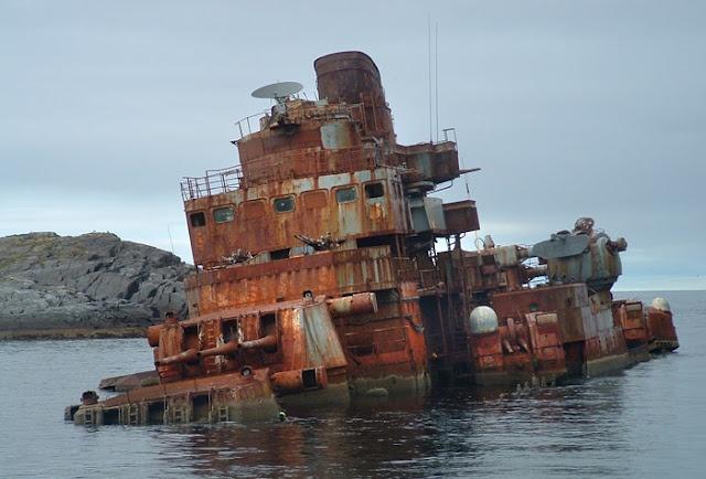 "Russian Battleship ""Murmansk"""