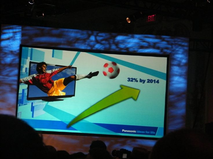 32% of new TVs bought to be 3D-ready by 2014? | Panasonic promises brighter future for 3D plasma TV tech Buying advice from the leading technology site