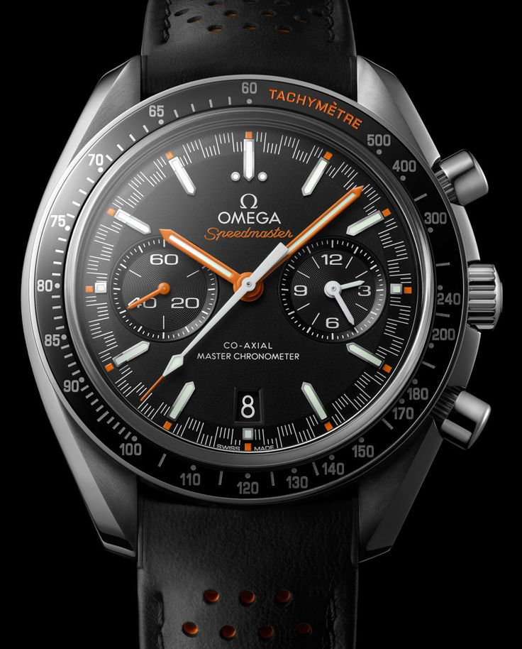 "As a pre-Baselworld 2017 treat, Omega today announces a new flavor of Speedmaster with the Omega Speedmaster Moonwatch Automatic Master Chronometer watch that features a ""racing dial.&…"