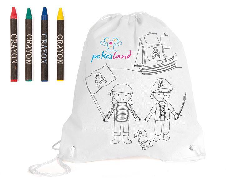 Mochila con Pinturas Pirates