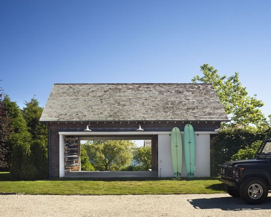 Garage just for Surf Boards, need one of these for private beach house