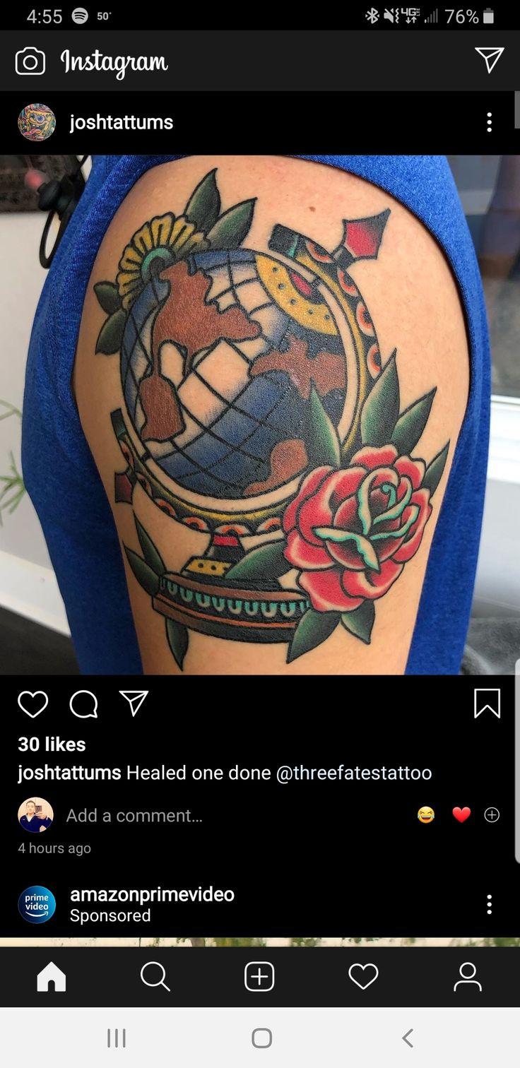Done by josh tatum at three fates tattoo in pensacola fl