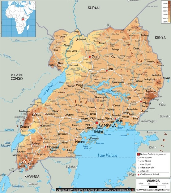 20 best east ug baganda images on pinterest uganda ethnic and map of uganda sciox Gallery