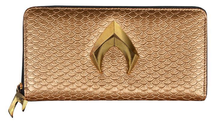 Justice League (2017) - Aquaman Logo Clutch Wallet by Ikon Collectables | Popcultcha