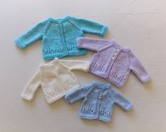 Such a sweet design - and easy to knit.