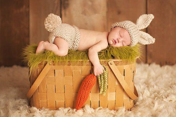Прекрасный Rabbite банни ручной шапочки мультфильм костюм вязания крючком фотография опоры новорожденных фото детские шапки шляпы купить на AliExpress
