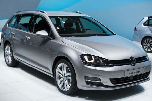 2015 Volkswagen Golf Wagon Silver Volkswagen, Volkswagen