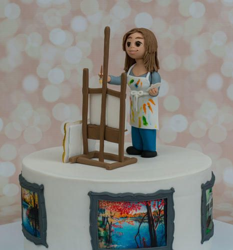 Artist Cake by Prima Cakes Plus