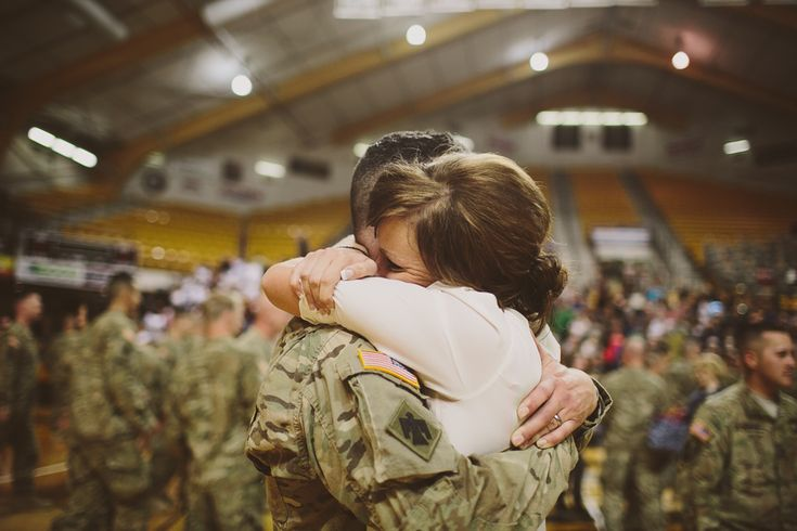 Soldier's Homecoming //  Was one of the hardest things ever...twice...no one photos the soldier who has no one to greet them.