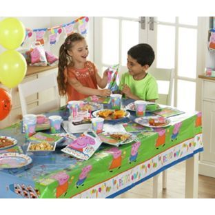 buy peppa pig party pack for 16 guests at argoscouk your