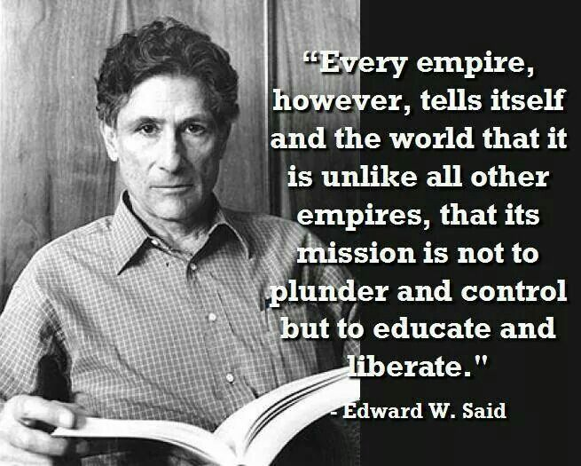 culture and imperialism a review of edward said essay Edward said - culture and imperialism chapter one: overlapping territories, intertwined histories said notes at the beginning of this essay that as individuals we must fully comprehend the pastness of the past while at the same time recognizing that the past is always informing the present.