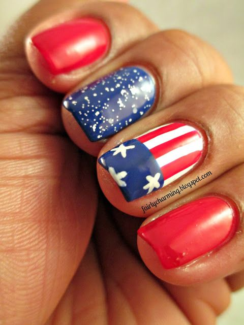 193 best Fourth of July | Patriotic Nail Design images on Pinterest ...