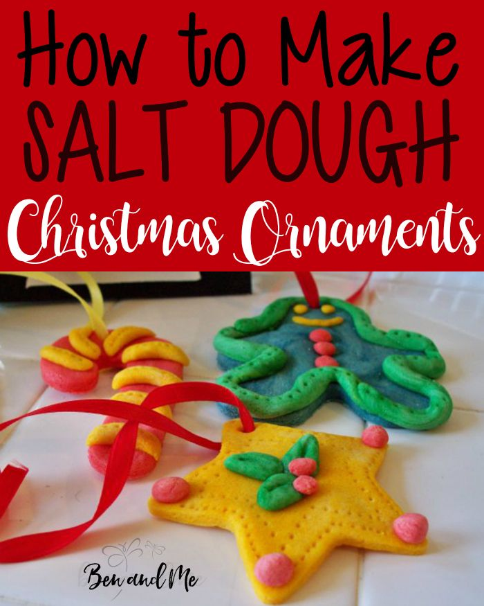 How To Make Sour Dough Christmas Decorations : Images about ben and me top articles on
