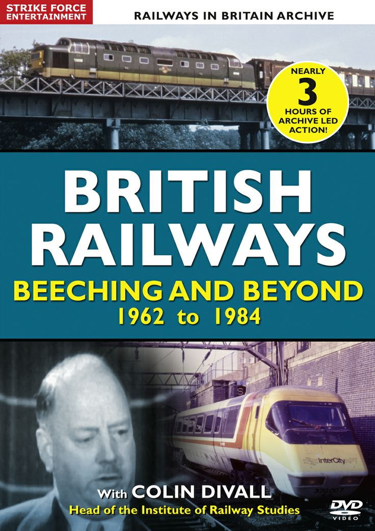 Another comprehensive DVD covering the years of modernization 1962 to 1984 British Railways Beeching and Beyond will entertain and educate the viewer.