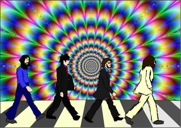 The Beatles Abbey Road Psychedelic