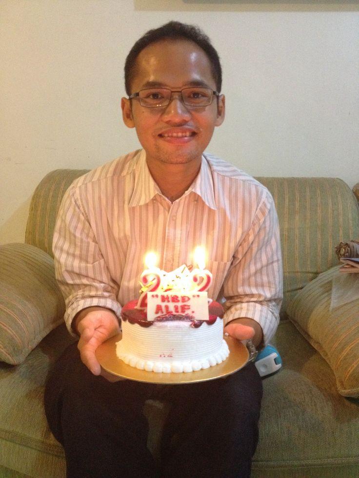 Alif's 22nd birthday ❤️