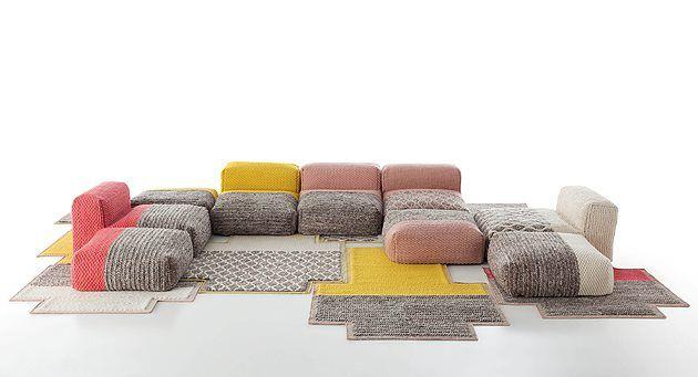 Mangas, un canapé modulable par Patricia Urquiola - FrenchyFancy