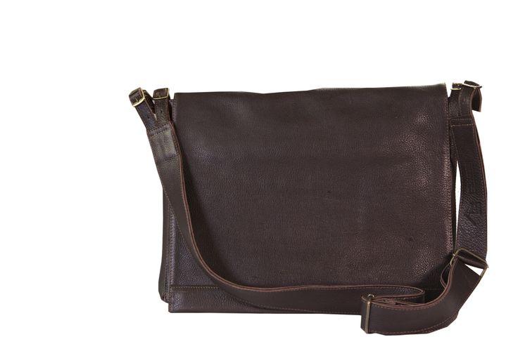 Dark Horse Classic Satchel in Kudu. #satchel #classic #daily #bag #laptop