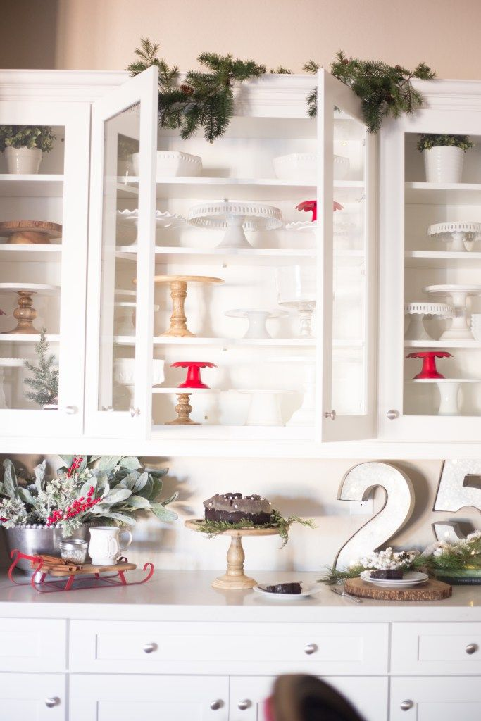 Christmas Kitchen Cake Stand Collection Just Destiny Mag