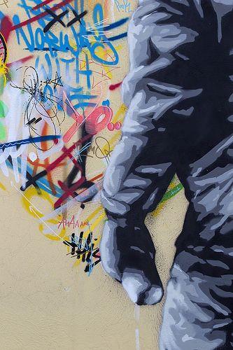 Martin Whatson, Terracina (LT) Italy #kbtr - More streetart @ www.Streetart.nl
