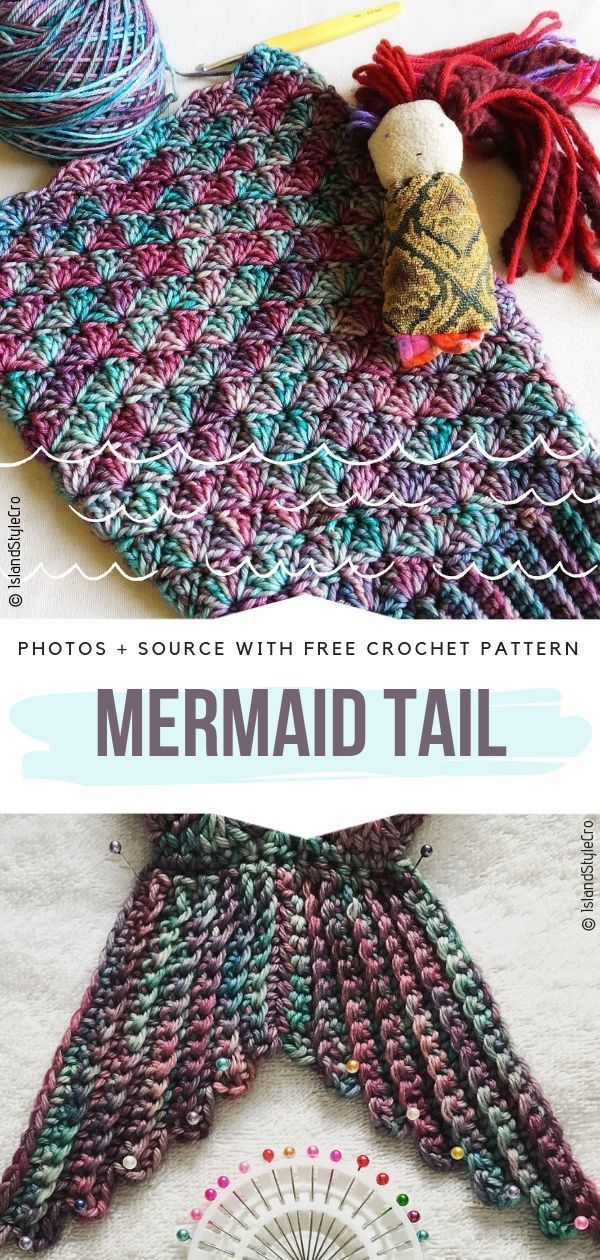Mermaid Tail Ideas Free Crochet Patterns