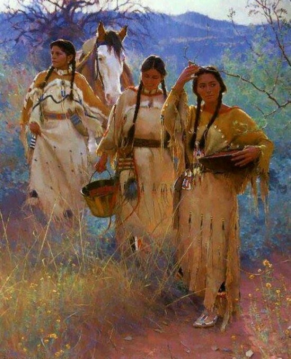 Proud Native American ~ Cherokee & Seminole. I'm just pinning this for the color scheme