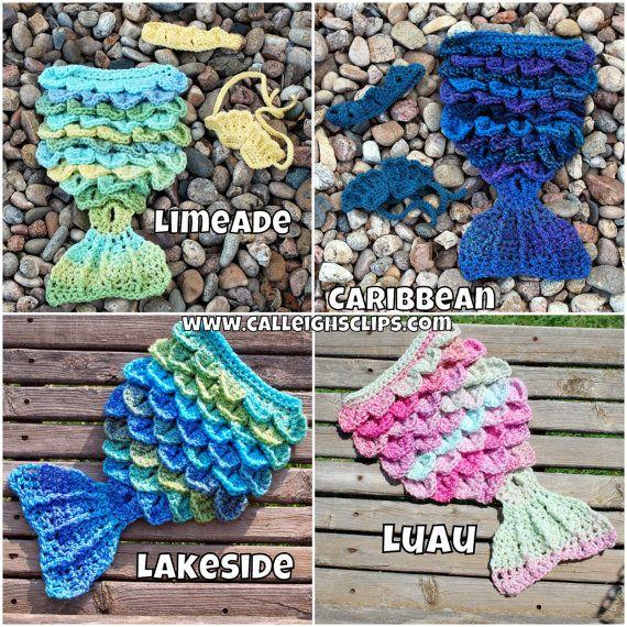 149 mejores imágenes de Crochet Mermaid Inspiration en Pinterest ...