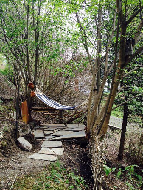 Green Space Garden Hammock by Marika Bové