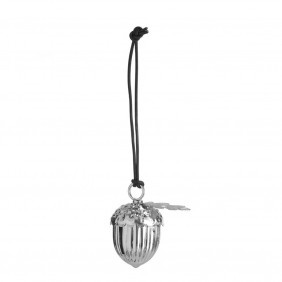 By Nord Silver Acorn Christmas Decoration