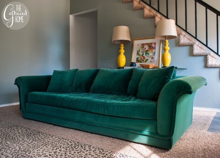 1000 images about single cushion sofas on pinterest for Deep couches for sale