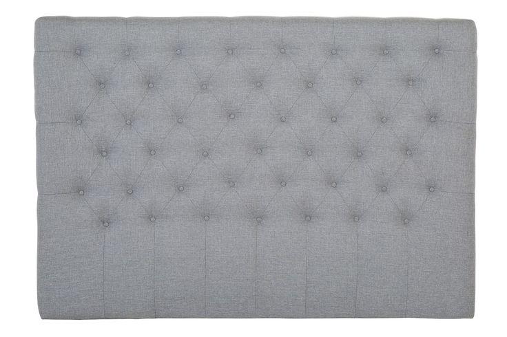 Sänggavel Relax Djuphäftad Hög 160 Ljusgrå - Chilli