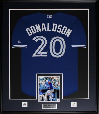 Jose Donaldson  Toronto Blue Jays  Signed Jersey Framed $1500.00 plus tax