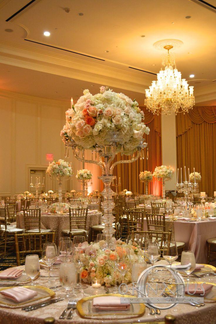 ORNATUS EVENTS PRODUCTIONS  www.ornatus-events.com  Passion for Decor - Wedding Decor Ideas - Jewish Wedding  - Events Decor Ideas - Flowers - Bride - Groom - Miami Events - Events Style - Celebrations - Gold Decor - Blush Decor -  Inspiration - Centerpieces - Linnens - Doral Trump Hotel & Spa.