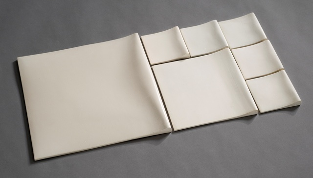 Fold tiles, 10 x 10 cm, 20 x 20 cm, 30 x 30 cm / Kirsi Kivivirta