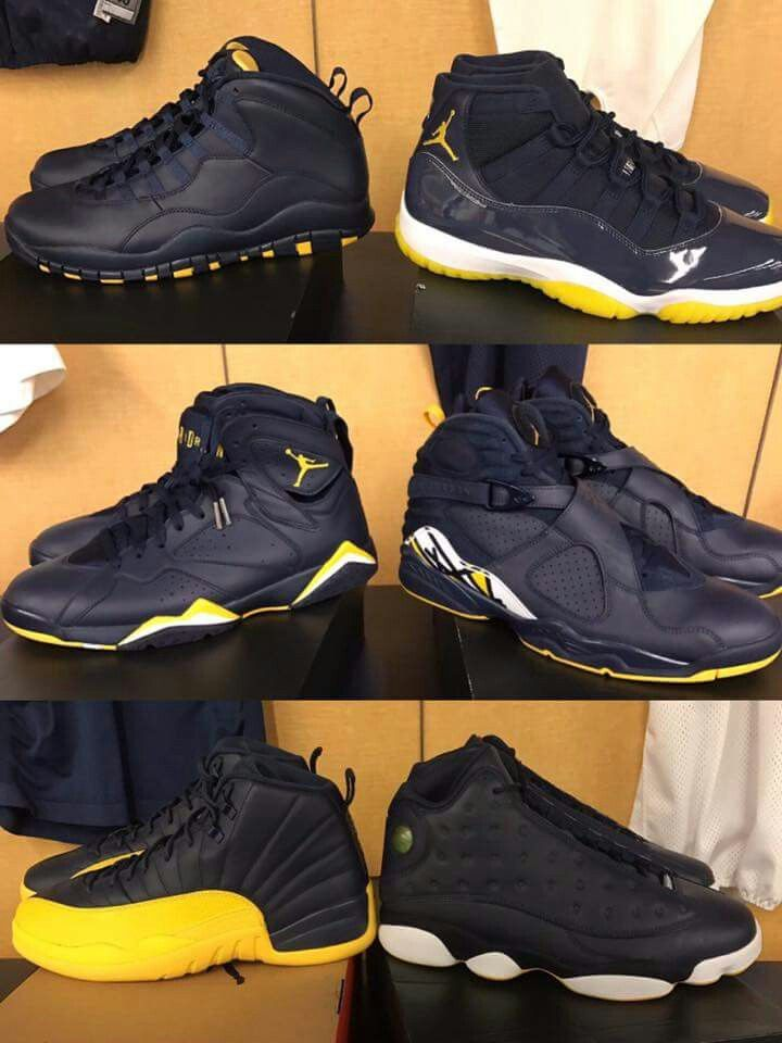 They need to come up off these Michigan colorways smh.