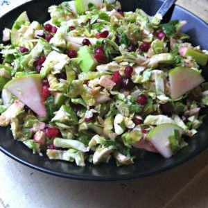 ShavedBrusselsSproutSaladWithAppleandPomegranate
