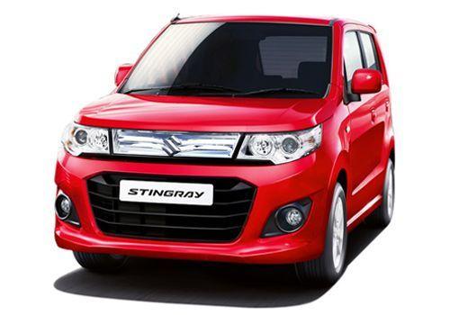 Maruti Wagon R Stingray Passion Red Color