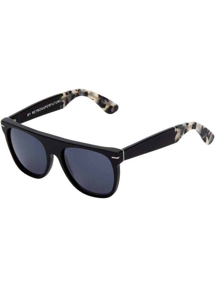 Retro Super Future 'Ghost Rider' wayfarer sunglasses