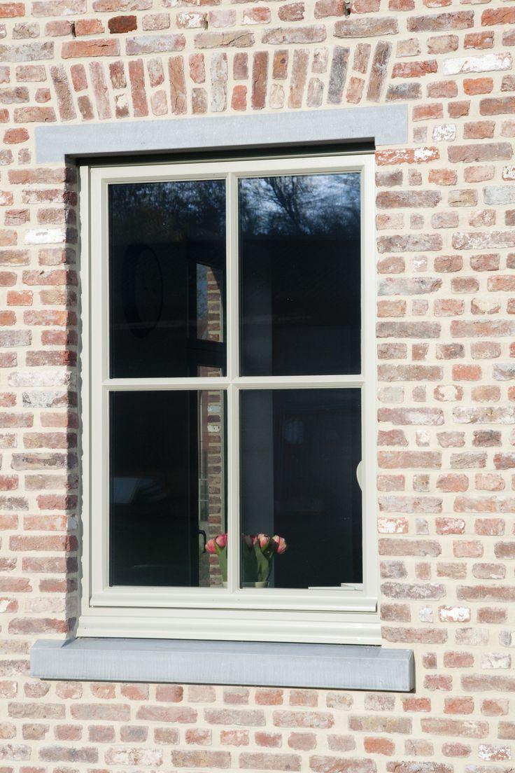 Landelijke stijl Belgische blauwe hardsteen vensterdorpels - Eurosteen Lanaken, Limburg