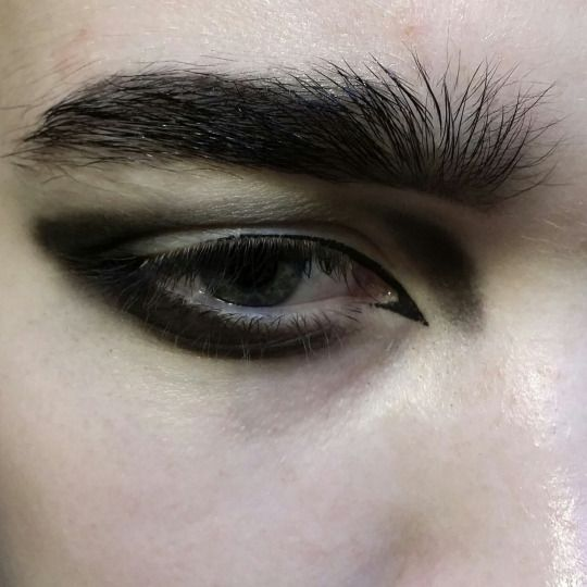 This is a guy's eye...WOW! (Padloquet) (Inspiration for Homme Fatal...Monique)