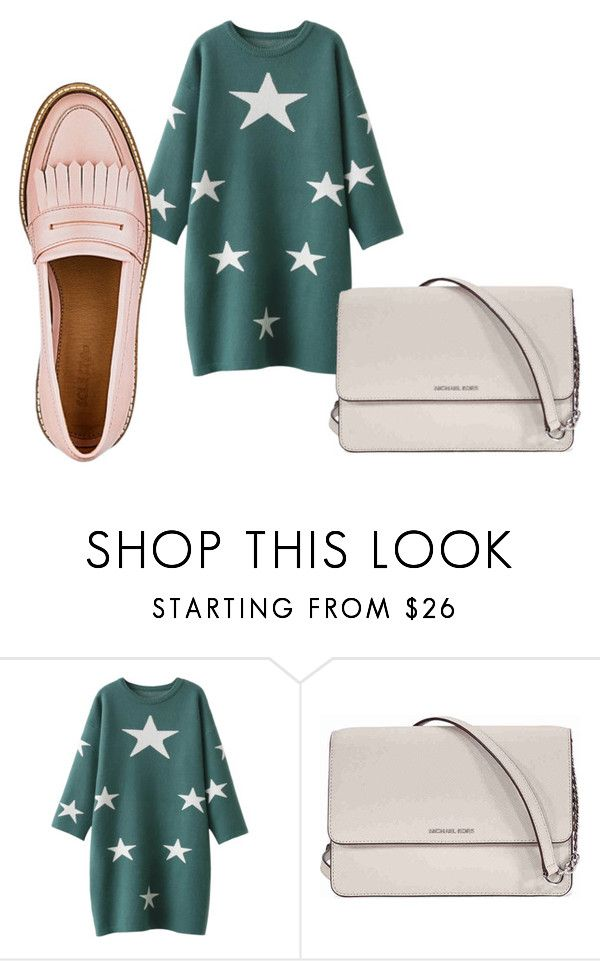 """""""Sweater Dresses"""" by rosamackenzie on Polyvore featuring Michael Kors and springsummer2018"""