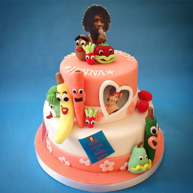 Cake for a Miranda Fan www.caronscakery.co.uk