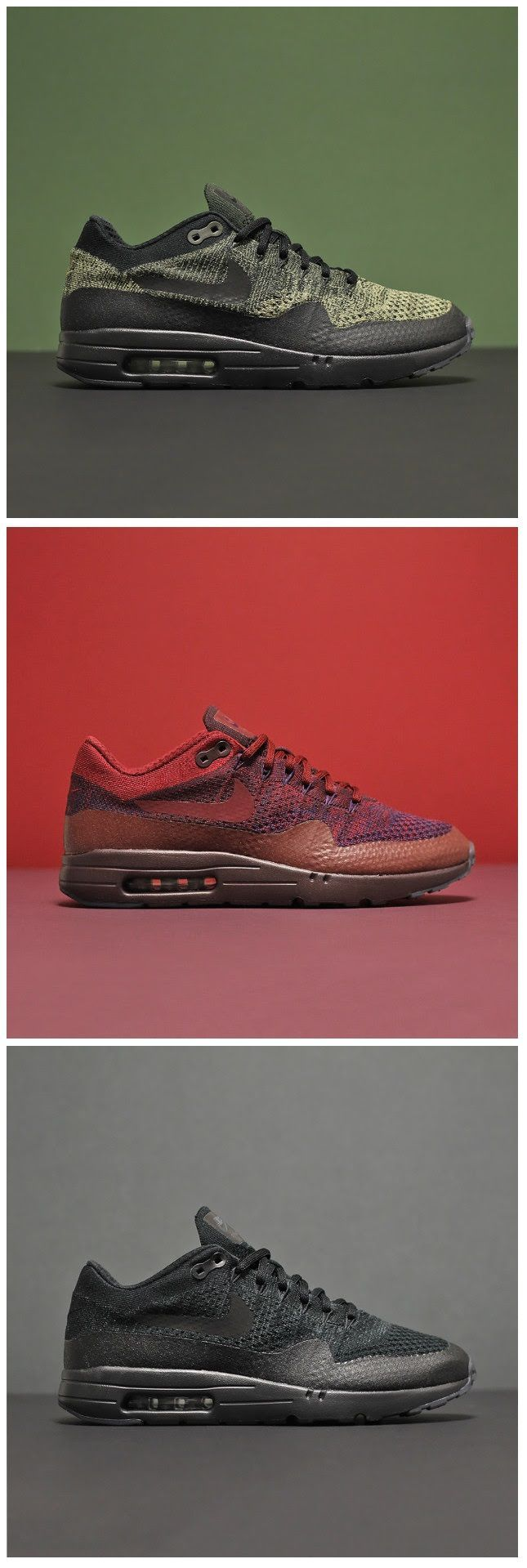 cool Sneakers - Nike Air Max 1 : Nike Air Max 1 Ultra Flyknit...