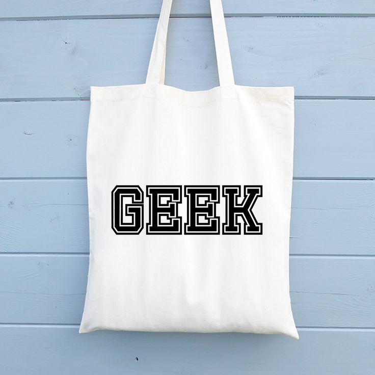 Geek Bag, Reusable tote bag