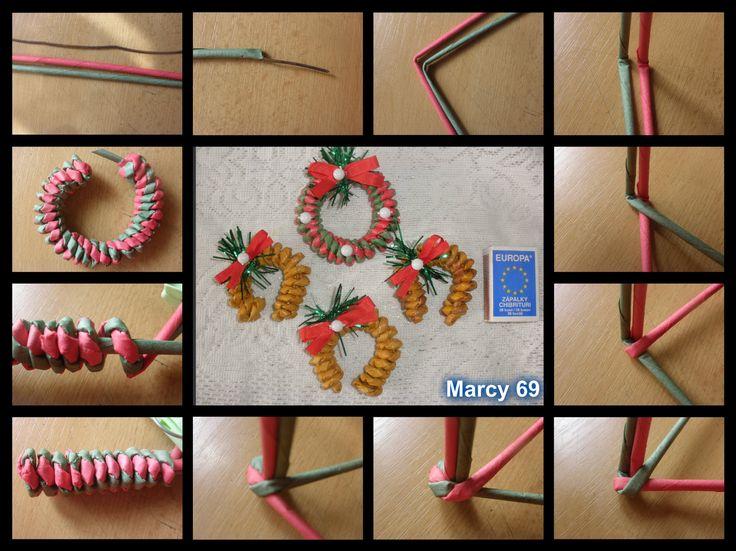 Návod na točené pletení ze dvou ruliček