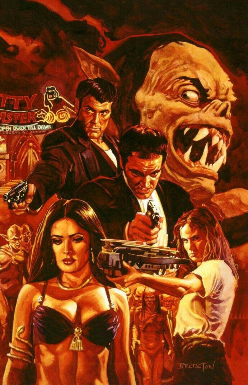 From Dusk Til Dawn Horror Movie Art Movie Art Vampire Movies