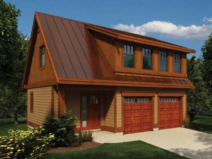Contemporary Garage Apartment beautiful garage with loft plans | house ideas | pinterest | loft